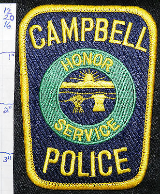 Ohio, Campbell Police Dept Patch