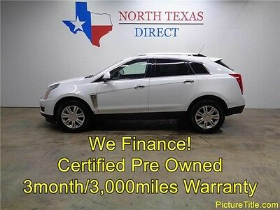 2015 Cadillac SRX Luxury Sport Utility 4-Door 15 SRX Luxury Heat Seat Panoramic Roof Camera Warranty We Finance 1 Texas Own