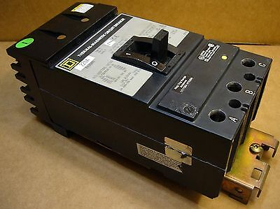 Square D KA36225 Thermal-Magnetic Circuit Breaker 225A 600VAC 3-Pole I-Line KA