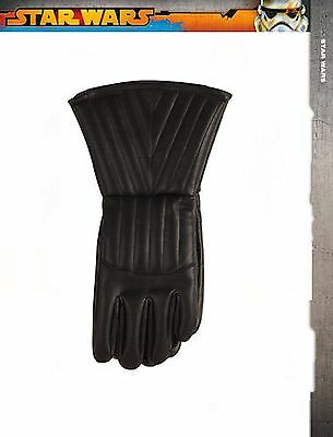 Star Wars Darth Vader Gloves Halloween Cosplay Adult Costume Fun Black Licensed