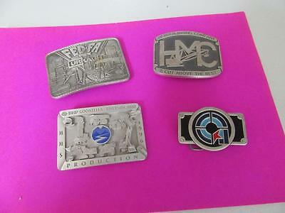 4  Belt Buckles  Mining Related   Lot 44