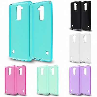 For LG G Stylo 2 Plus TPU Rubber Skin Case Cover Purple