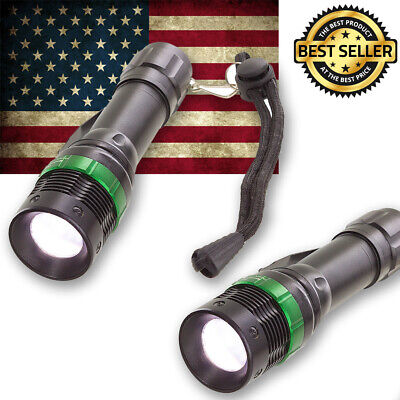2-Pack Ultrafire CREE XM-L T6 Zoomable 2000 Lumen Tactical LED Flashlight Torch