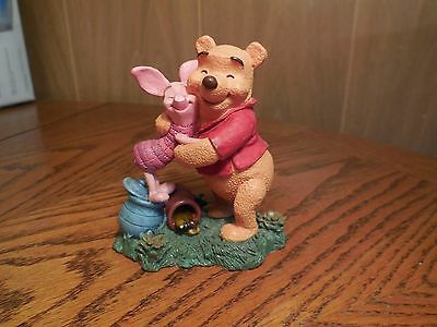 "Simply Pooh Figurine ""Hugs are Better than Honey""  Pooh & Piglet"