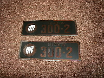 1967-70 Buick Valve Cover Decal 400 4V NEW Pr