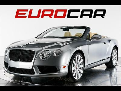 2013 Bentley Continental GT GTC V8 Convertible 2-Door 2013 Bentley Continental GT V8, HIGHLY OPTIONED, STUNNING CONDITION!!