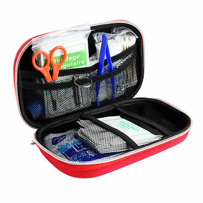 First Aid Kit Bag Emergency Ambulance Home Medical Travel Car Outdoor UK STOCK
