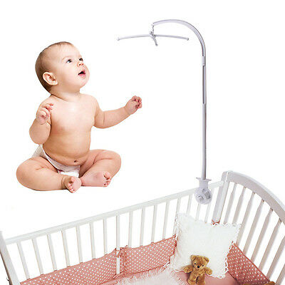 5 Pcs Hanging Baby Crib DIY Mobile Bed Bell Toy Holder Arm Bracket Nursery Set