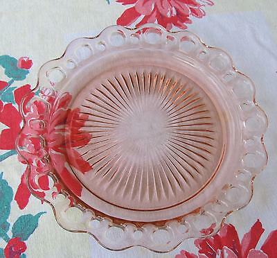 "Open Lace/Lace Edge/Old Colony 10 1/2"" Dinner Plate Very Good to Excellent!!!"