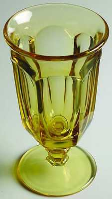 Imperial Glass Ohio OLD WILLIAMSBURG YELLOW Iced Tea Glass 5800592
