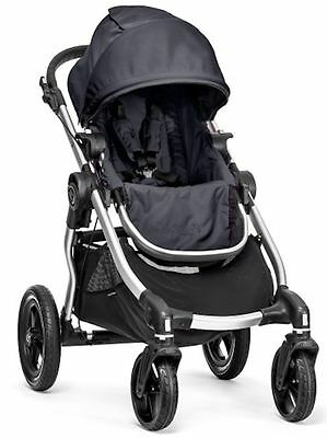 2016 Baby Jogger City Select All Terrain Single Stroller Silver Frame Titanium