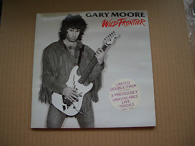 """Gary Moore - Wild Frontier - 7"""" Double Single In A Gatefold Sleeve - Thin Lizzy"""