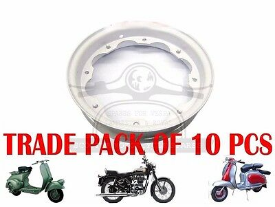 Lambretta Primer Coated Wheel Rim Unit Gp Li Tv Sx Trade Pack 10 Units  @cad