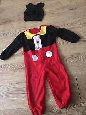 mickey mouse costume 3 years old