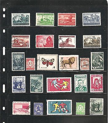 Sheet   Bulgaria   Fine Used Stamps All Different