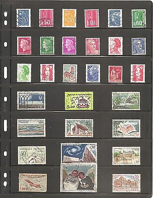 A Nice Collection  Of 30   France    Fine Used   Stamps