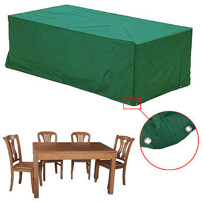 Waterproof Rain Dust Protective Cover Garden Outdoor Bench/Table Furniture Cover
