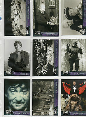 Dr Doctor Who Timeless  -  100-card base set NM Topps 2016