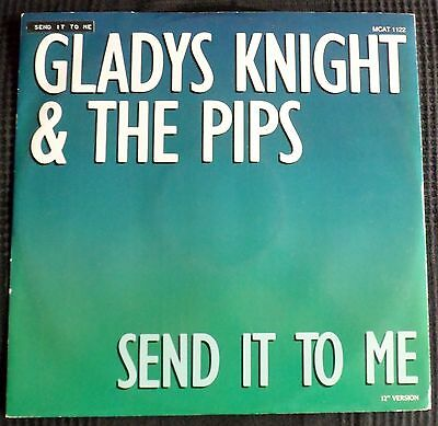Gladys Knight&the  Pips=Send It To Me-1986-Mint-