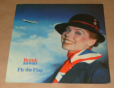 British Airways Fly The Flag 1981 Advertising Record Roz Hanby