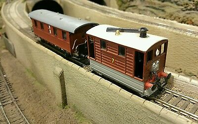 Thomas and Friends Henrietta Coach for Bachmann / Hornby / Ertl Toby the Tram
