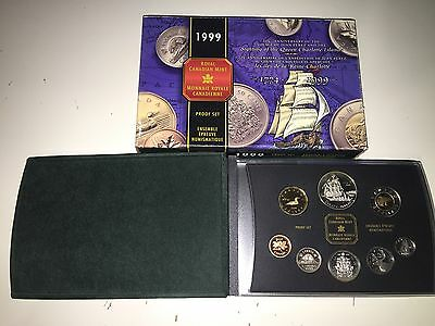 1999 Canada Proof Double Dollar Set Issued by the RCM