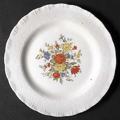 Macbeth Evans Glass CHINEX CLASSIC BOUQUET Dinner Plate 3426859