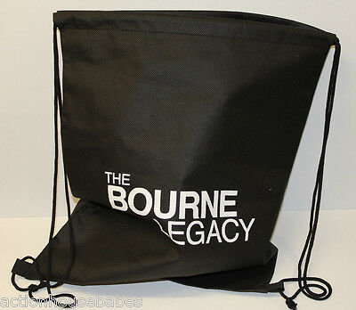 The BOURNE LEGACY - MOVIE PROMO BAG - DRAWSTRING BACKPACK - PROMOTIONAL - NEW