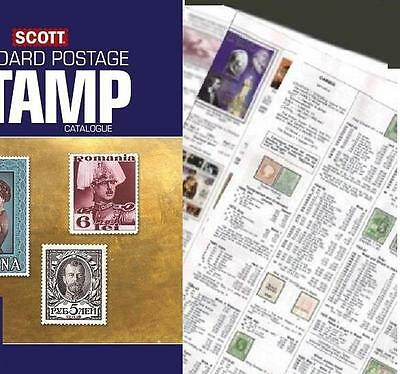 Russia 2017 Scott Catalogue Pages 1185-1386