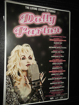 Dolly Parton The Better Day World Tour Mini Poster/flyer