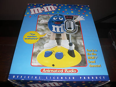 M&M Motion Activated Animated Radio , new in box