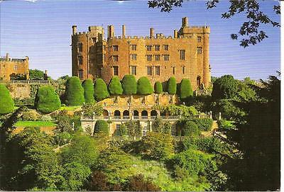 Powis Castle and Garden, Powys - Posted Postcard