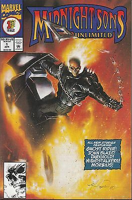 Midnight Sons Unlimited #1  Marvel Comics - 1993