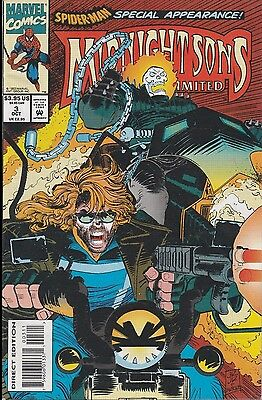Midnight Sons Unlimited #3  Marvel Comics - 1993