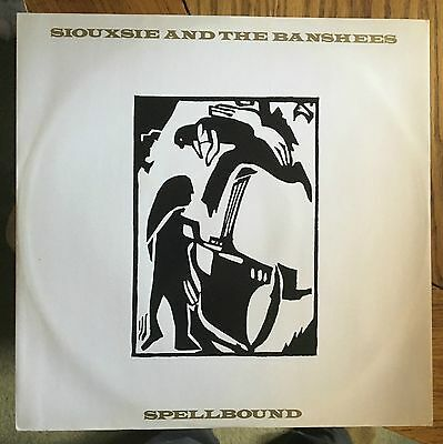 "Siouxsie and the Banshees Spellbound UK 1981 12"" PS Polydor Recs"