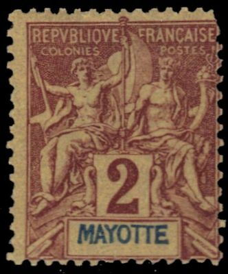 """MAYOTTE 2 - Navigation and Commerce """"Keyplate"""" (pf90478)"""