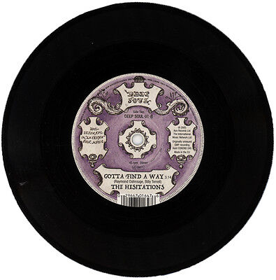 """Hesitations  """"gotta Find A Way""""  Previously Unissued Deep Soul   Listen!"""