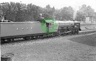 MONO LARGE NEG ROMNEY HYTHE & DYMCHURCH NARROW GAUGE RAILWAY KENT 1950s-60s