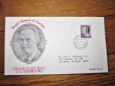Grand Duke Jean Of Luxembourg  Royal Houses Of Europe 1978 Cover