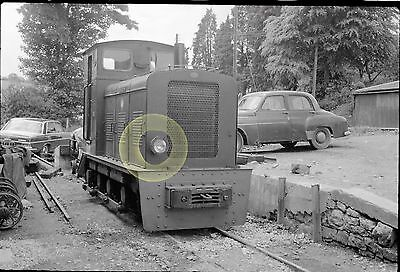 MONO LARGE NEG CHATTENDEN  WELSHPOOL & LLANFAIR NARROW GAUGE RAILWAY WALES 1960s