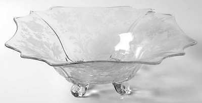 Cambridge WILDFLOWER CLEAR 4 Toed Square Bowl 7164375