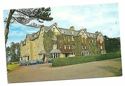 Old Postcard, NAIRN Golf View Hotel, posted 1969, classic cars