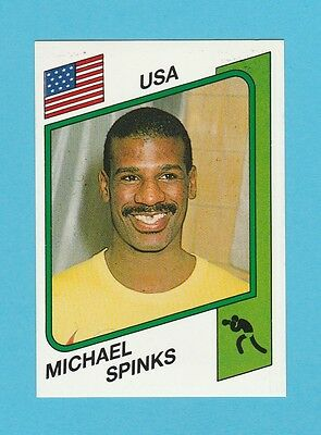 Boxing - Panini - Supersport Boxing Sticker No. 146  -  Michael  Spinks  -  1986