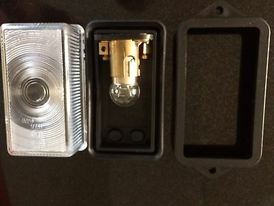 Rubbolite Front Clear Marker Light