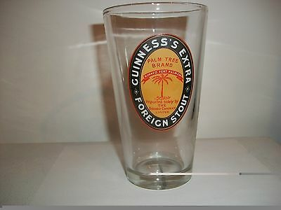 Guinness's Extra Foreign Stout- Beer Glass