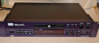 HHB BurnIT Plus CDR-830 Professional Compact Disc CD Recorder. FREE SHIPPING!