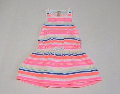 NWT Girls Oshkosh Bright Colorful Striped Tunic Top sz 4t