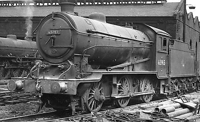 Photo Ex LNER Class J38 No 65913 at Eastfield shed yard 9/9/59 R/P Photomatic