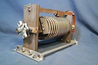 """E F Johnson 226-5 Rotary Inductor Assembly Conductor is 3/16""""x1/8"""" Bronze Bar"""
