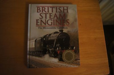 BRITISH STEAM ENGINES The Memorabilia Collection HB 2012 Railway History Rare
